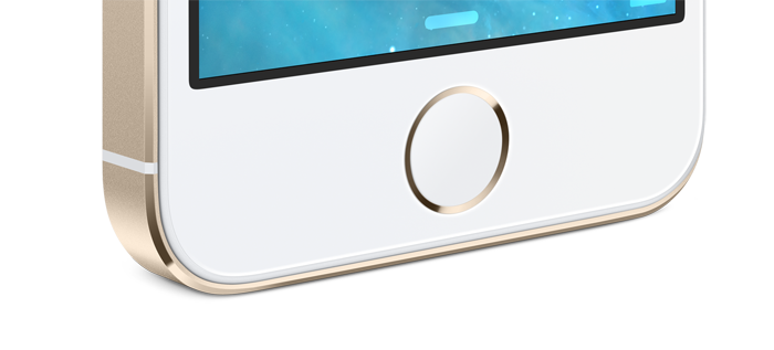 iPhone 5S Home Button Gold