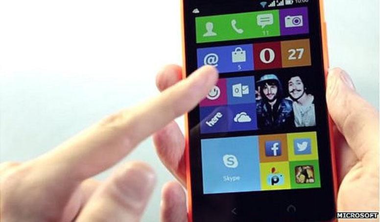 Nokia X2 Android OS