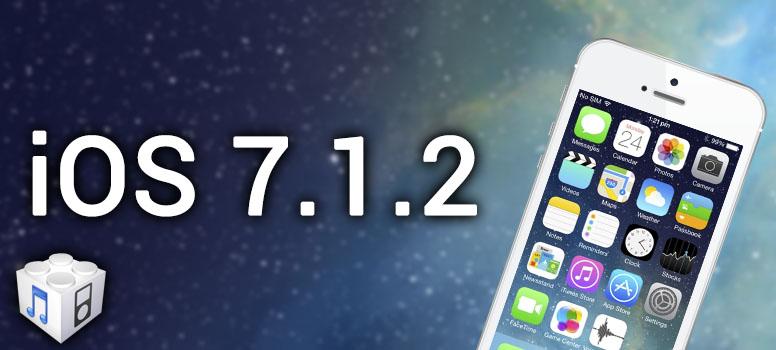 iOS 7.1.2 IPSW