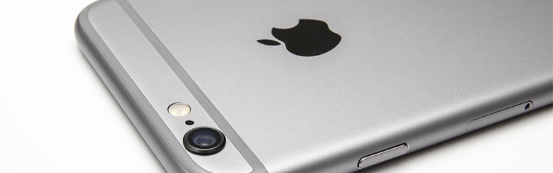 Apple iPhone 6 Silver Banner