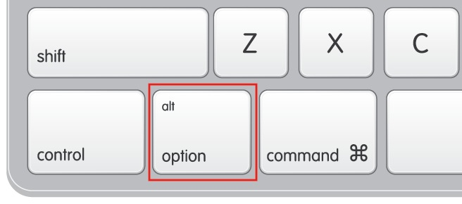 ALT Option Key Mac