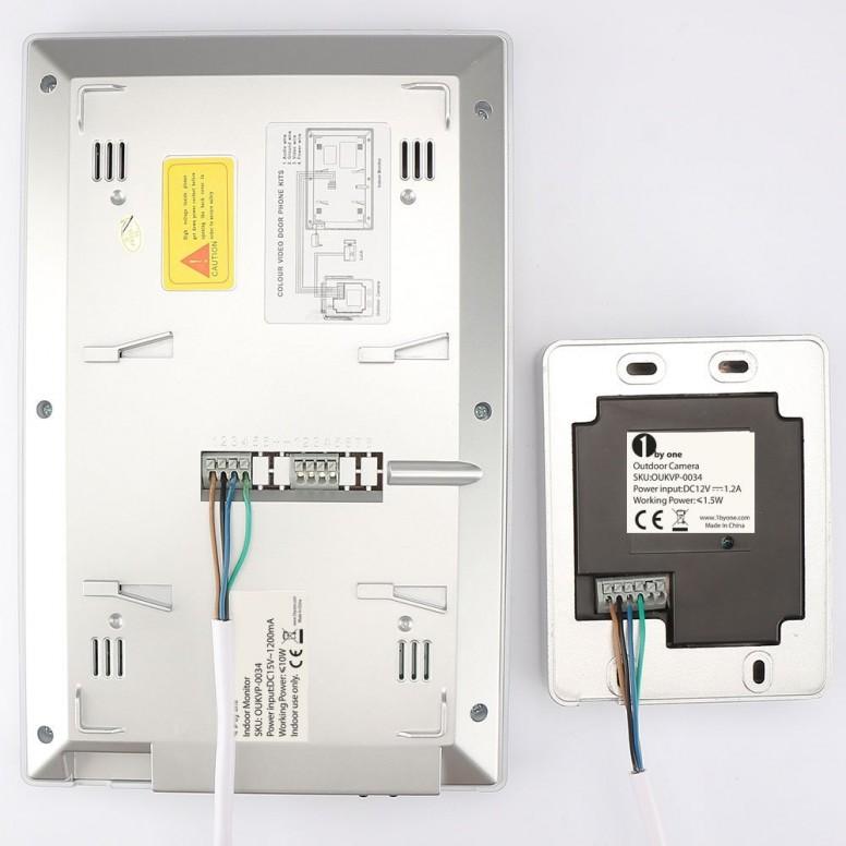 1Byone Video Intercom Cabling