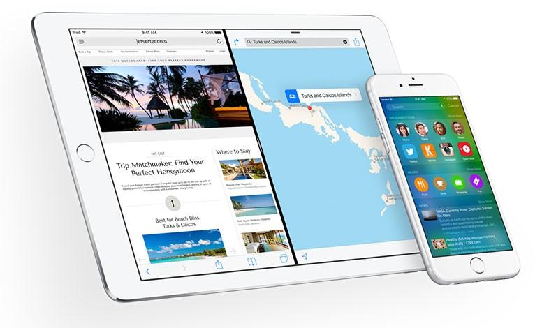 Apple iOS 9 iPad iPhone
