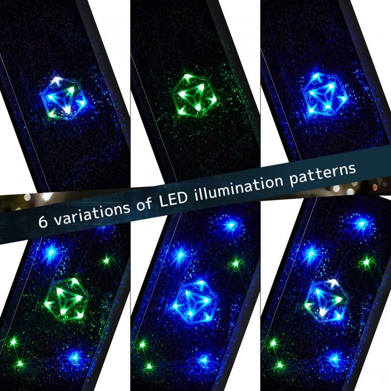 Cheero Ingress Power Cube LED Colours