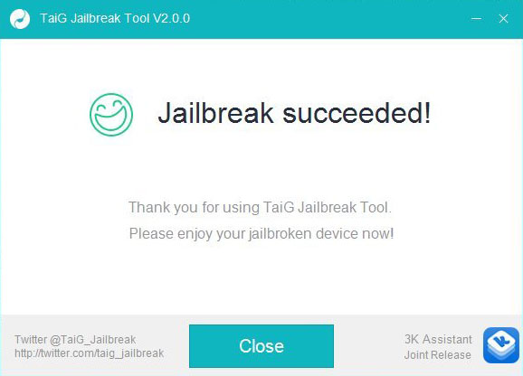 TaiG 2.0 Jailbreak
