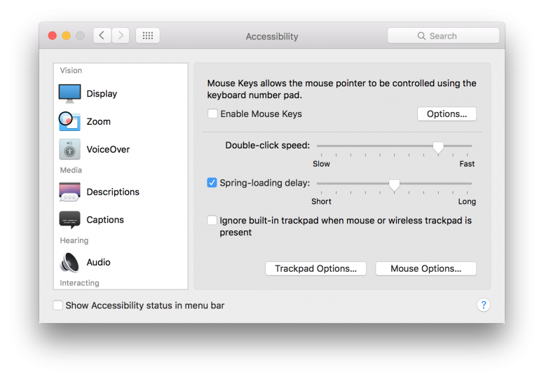 how to make macbook trackpad click