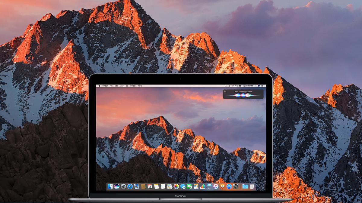 MacBook macOS Sierra