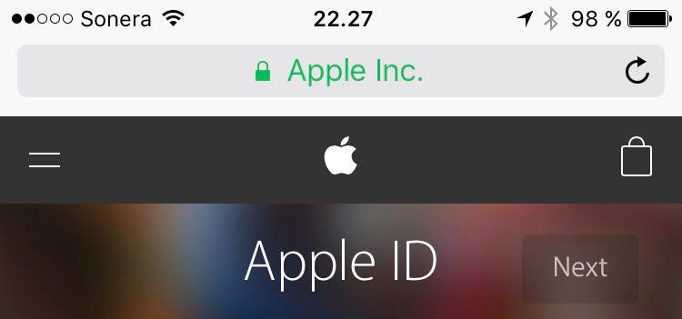 Apple SSL