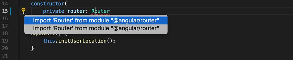 Fix Error: VS Code Angular TypeScript Imports From